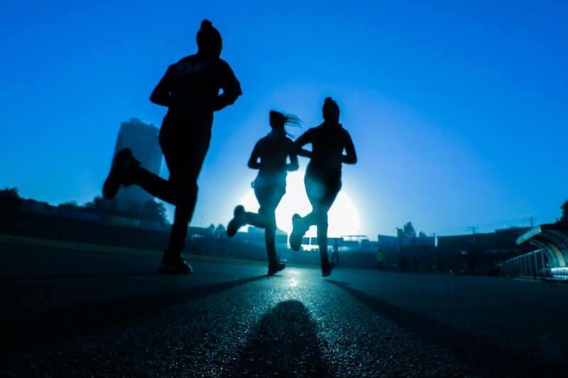 running menopause exercise
