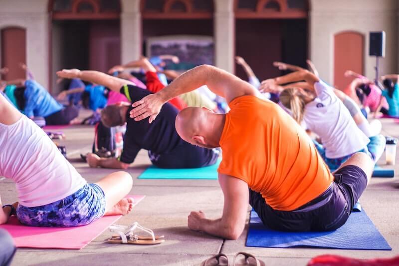 yoga menopause exercise